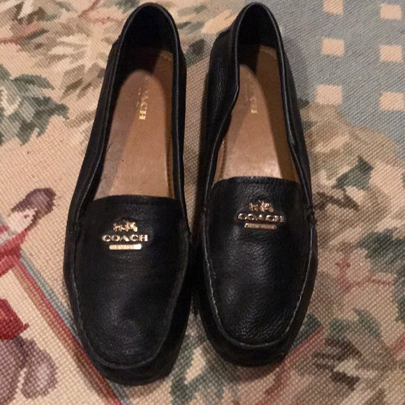 26e0ebd3451 Coach Shoes - Ladies Black Coach Loafers 7